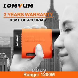 Lomvum Compteur Numérique De Distance Laser Téléscope Rangefinder Golf Chasse 1312yards