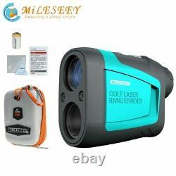 Mileseey 600m Golf Chasse Laser Rangefinder Slope Mode Sport Distance Meter