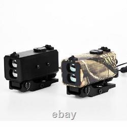 Mini Chasse Télémètre Distance Vitesse Mesureur Nuit Laser Range Finder