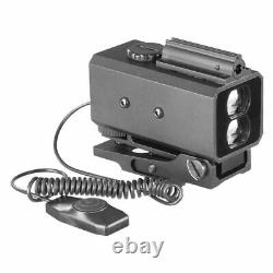 Mini Laser Infrarouge Riflescope Télémètre Chasse Tir Distance Angle Vitesse