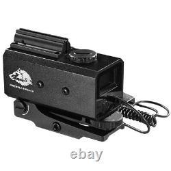 Mini Laser Infrarouge Riflescope Télémètre Pour La Chasse Angle De Distance De Tir