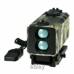 Mini Laser Range Finder Chasse Tactique Rifle Scope 700m Distance Compteur Vitesse