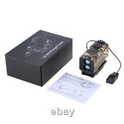 Mini Laser Range Finder Riflescope Sight Rifle Scope Hunting Mate 300km/h Nouveau