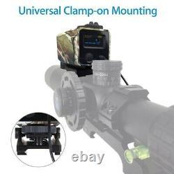 Mini Portée Tactique Rifle Laser Hunting Range Finder Compteur De Distance De Vue 700m