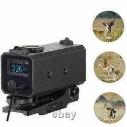 Mini Rifle Scope Hunting Rangefinders 700m Laser Range Finder Mesureur De Vitesse