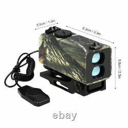Mini Télémètre De Télémètre Laser Pour La Chasse Mesureur De Vitesse De Distance De Tir