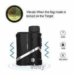 Moesapu Laser Rangefinder Pour La Recherche De Gamme De Chasse Au Golf Avec Slope Flag-lock