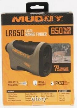 New Muddy Laser Range Finder 650yd Mud-lr650 Comprend La Batterie Au Lithium