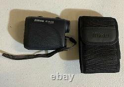Nikon 8397 Aculon Al11 Laser Rangefinder, Noir