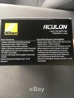Nikon 8397 Aculon Al11 Télémètre Laser Vert Foncé