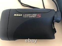 Nikon Laser Rangefinder 1200s 7x25 Imperméable. Excellent État