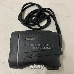 Nikon Monarch 3000 6x 21mm Laser Stabilisé Télémètre 16556
