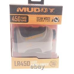 Nouveau Mud-lr450 Tan 450 Yard 7x24mm Laser Range Finder Livraison Gratuite