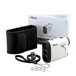 Nouveau Nikon Coolshot 20 Télémètre Laser Portable Golf Lcs20 Japon