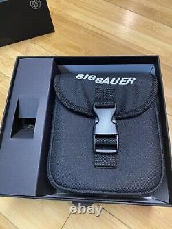 Nouveau Sig Sauer Kilo3000bdx Gamme Laser Trouver Jumelles 10x42mm Sok31001 Noir