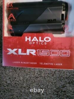 Nouveau Xlr1500 Halo Optique Laser 1500 Yard Rangefinder 6x Agrandissement