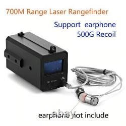 Portée 700m All-weather Mini Laser Rangefinder Recoil Hunting Night Vision Scope