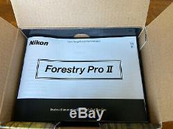 Pro II Forestry Nouveau Nikon Télémètre Laser Hypsomètre Nib Livraison Gratuite