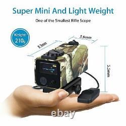 Rouge De Chasse Finder Riflescope Laser Laser Compteur Speed speed fog Meseur Avec Mont 3d