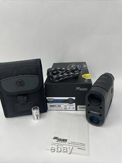 Sig Sauer Kilo1800 Bdx 6x22mm Classe 3r Cible Laser Monoculaire, Sok18601