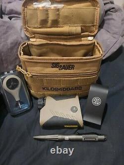 Sig Sauer Kilo2400abs Rangefinder Laser Terre Noire Plate