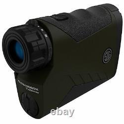 Sig Sauer Kilo2400bdx 7x25mm Laser Rangefinder Monoculaire, Milling Grid Reticle