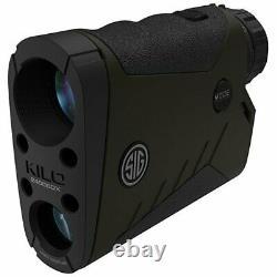 Sig Sauer Kilo2400bdx Laser Range Trouver Un Reticle De Fraisage Monoculaire 7x25mm