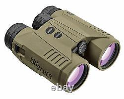 Sig Sauer Kilo3000 Bdx 10x42mm Télémètre Laser Binoculaire, Classe 1m Od Vert