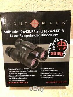 Sightmark Solitude 10x42 Lrf-laser Télémètre Jumelles 1,200+ Yds Sm22007