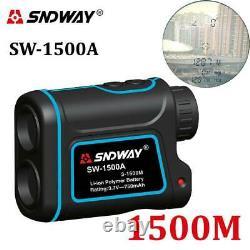 Sndway Sw-1500a Laser Télescope Monoculaire Chasse Télémètre 1500m