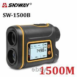 Sndway Telescope Laser Range Finder Digital Distance Meter Hunting Monoculaire
