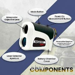 Surgoal Gs-1 Hd Pro 1200yards Laser Rangefinder Pour Golf Professional Edition