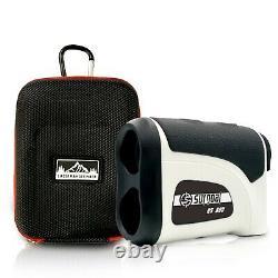 Surgoal Hd 6x-mag 800yd Chasse Waterproof Laser Rangefinder Tout Usage