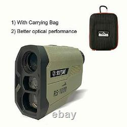 Surgoal Hunting Range Finder 1000yard Laser Rangefinder Haute Précision 6x