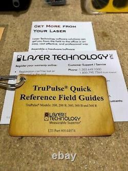 Technologie Laser Trupulse 200 Télémètre Laser