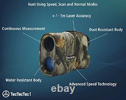 Tectectec Prowild Chasse Rangefinder 6x24 Laser Range Finder Pour La Chasse Avec