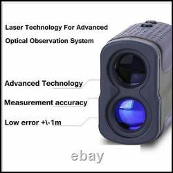 Télémètre Laser 6x Zoom 1000 Yard Pour La Chasse Golf Laser Mesure De Distance