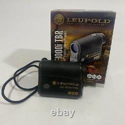 Télémètre Laser Numérique Compact Leupold Rx-1000i Tbr Avec Adn Noir