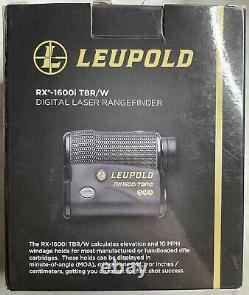 Télémètre Leupold Rx 1600i Tbr/w 173805