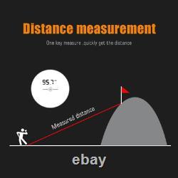 Téléscope Milesey Pf210 Rangefinder Pour La Chasse Golf Laser Rangefinder 600m