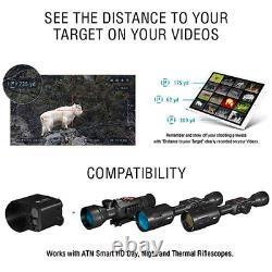 Theopticguru Atn Auxiliary Ballistic Laser Abl Avec Bluetooth 1500m