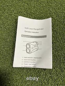 Tir Au Laser Rangefinder Pour Le Golf / Chasse / Tir À L'arc Et Aventure