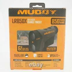 Tout Nouveau Muddy Lr850x Hd Laser Rangefinder 850 Yard Range Avec Objectif En Verre