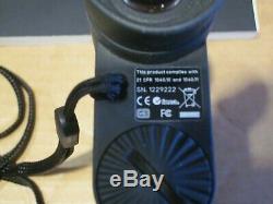 Travaux D'occasion Grand Leica 1600 Longue Distance Télémètre Laser / Manuel, No Cr2 Batterie