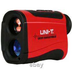 Uni-t 600m 7x Laser Range Finder Distance Meter Monoculaire Telescope Speed Tester