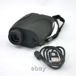 Visionking 6x21 Laser Range Finder Hunting Golf Rain 1000m Charge Usb Avec Câble