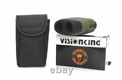 Visionking 6x25 Laser Range Finder Golf Telescope 600m Hunting LCD Rangefinder