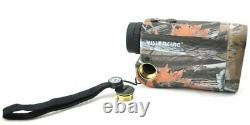Visionking 6x25 Laser Range Finder Hunting Golf Rain Model 600 M Camo Nouveau
