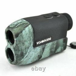 Visionking 6x25 Laser Range Finder Hunting Golf Rain Model 600 M Measure Hunter