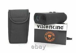 Visionking 8x30 Laser Range Finder Monoculaire 1400 M Long Range Hunting Golf